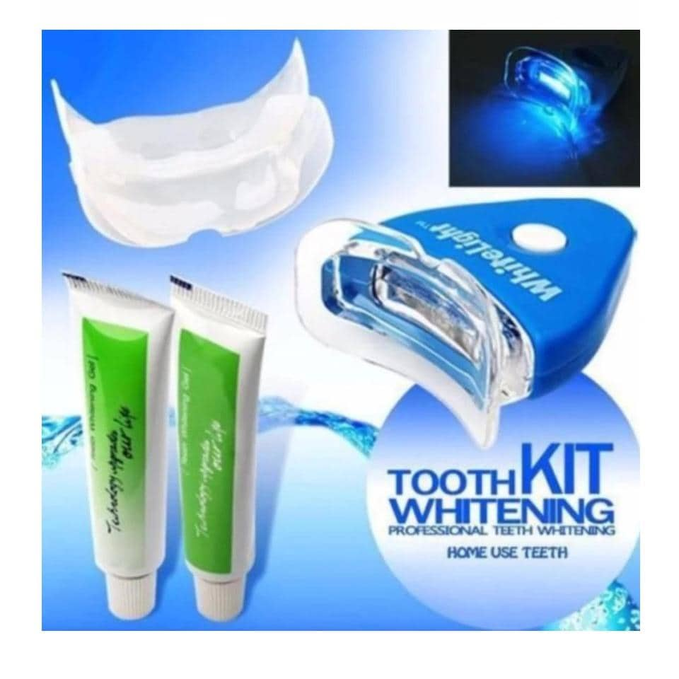 เจลฟอกฟันขาว ฟอกสีฟัน ด้วยแสงเลเซอร์