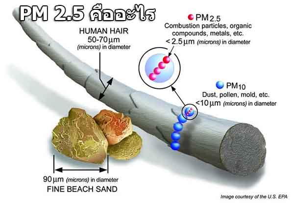 pm2.5 คืออะไร